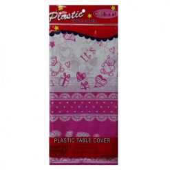 Table Cover Its A Girl  54 X 108 Plastic