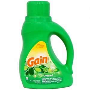 Gain Liq Detergent 40oz Original