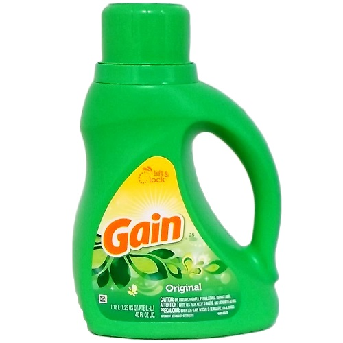 Gain Liq Detergent 40oz Original