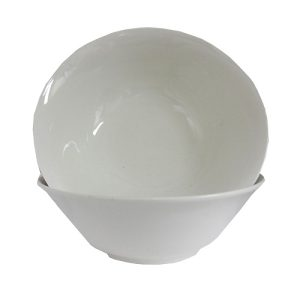 Ceramic Bowl 9in Off White