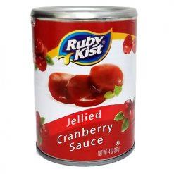 Ruby Kist Jellied Cranberrry Sauce 14oz