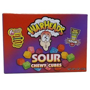 Warheads Sour Chewy Cubes 4oz