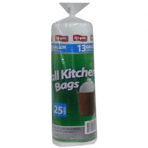 Ri-Pac Tall Kitchen Bags 13gl 25ct In Ba