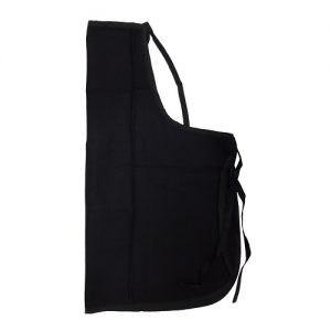 Apron Black Cotton