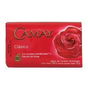 Camay Bath Soap 150g Red