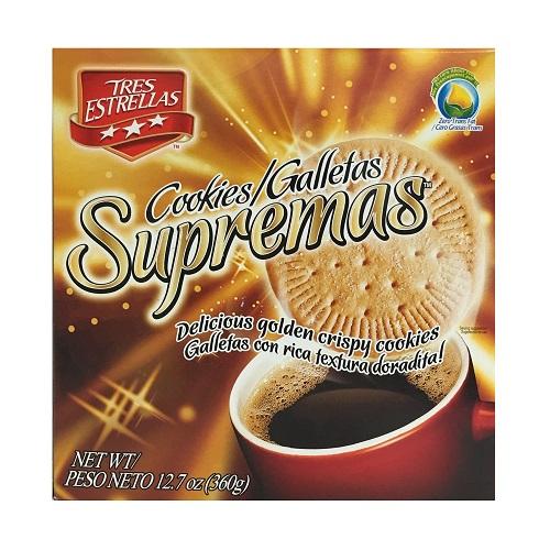 Tres Estrellas Supremas Cookies 12.7oz