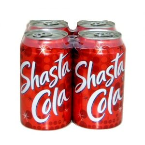Shasta Soda 12oz Cola 4pk