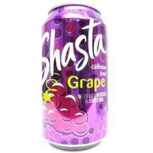 Shasta Soda 12oz Grape 4pk