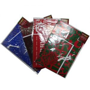 X-Mas Wrap AND Go Gift Wrap Kit Asst