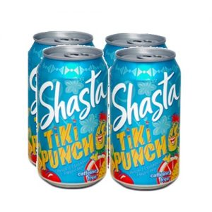Shasta Soda 12oz Tiki Pnch 4pk Can