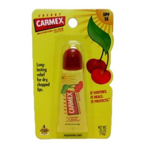 Carmex Lip Balm Cherry .35oz Tube Med