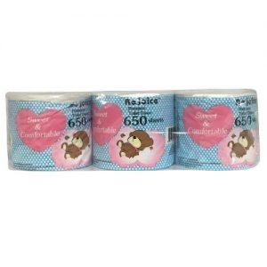 Rejoice Premium Bath Tissue 650ct 2-Ply