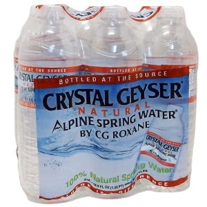 Crystal Geyser Water 6pk 16.9oz