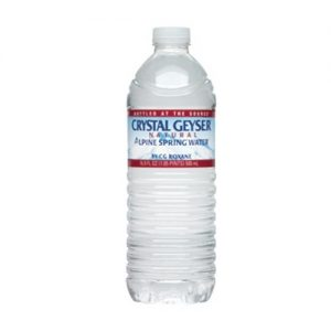 Crystal Geyser Water 24pk 16.9oz