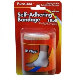 Pure-Aid Sel-Adhering Bandage 3in X 2.5