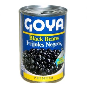 Goya Black Beans Whole 15.5oz