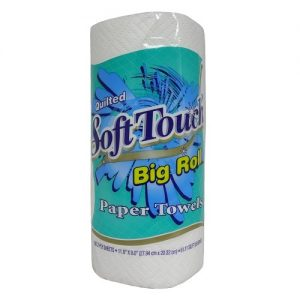 Soft Touch Paper Towel 1pk 100 2-Ply