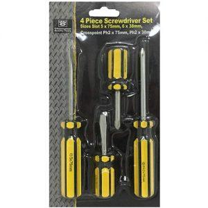 Screwdriver Set 4pc Asst