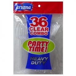 Ariana PS Clear Combo 36ct Plastic H-D