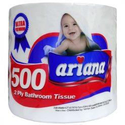 Ariana Bath Tissue 1pk 500ct 2-Ply