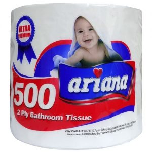 Ariana Bath Tissue 1pk 500ct 2-Ply