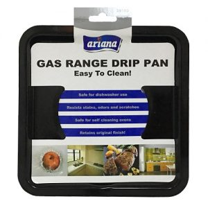 Ariana Metal Drip Pan 1pc Square