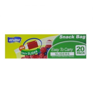 Ariana Snack Bag Easy Sliders 20ct
