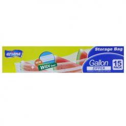 Ariana Storage Bag 1 Gl Zipper 15ct