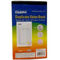 Duplicate Sales Book 3.25 X 5.5in
