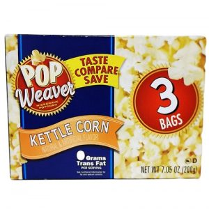 P.W Microwave Popcorn 3pk Kettle Corn