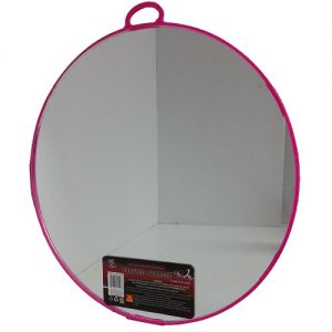Wall Mirror Round Asst Clrs