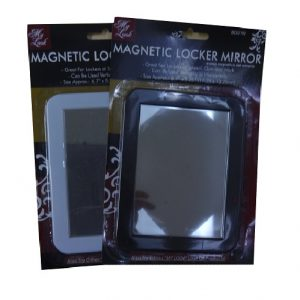 Magnetic Locker Mirror 6.7 X 5.25in Asst