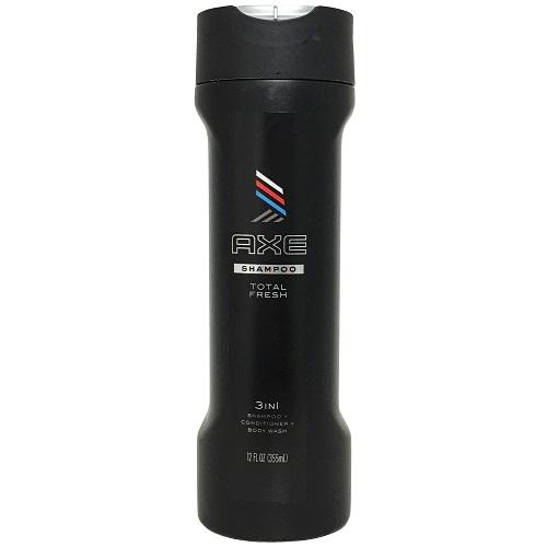 Axe Shampoo 3 In 1 Total Fresh 12oz