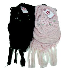 Womans Hat AND Scarf 2pc Set