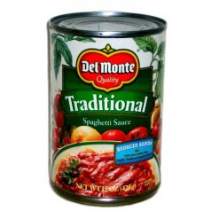 Del Monte Spag Sauce 15oz Traditional