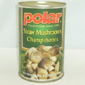 Polar Straw Mushrooms In Can 15oz