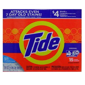 Tide Detergent 20oz H.E Original 15 Load