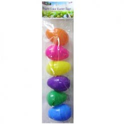 Easter Eggs Bright 6ct 6 Colors
