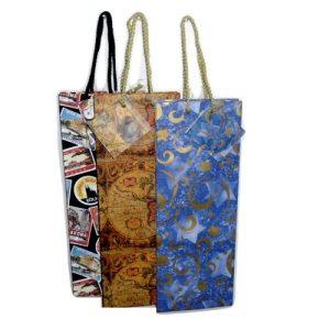 Wine Gift Bags Asst Designs