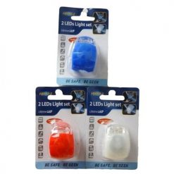 Bicycle LED Light 1pc Asst Clrs