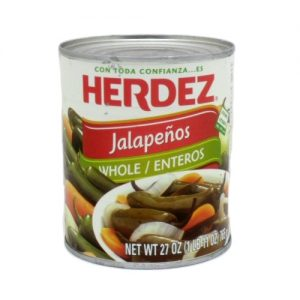 Herdez Whole Jalapenos 27oz
