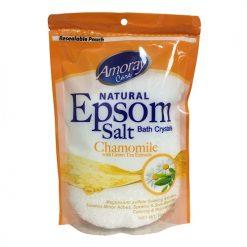 Amoray Epsom Salt Pouch Chamomile 16oz