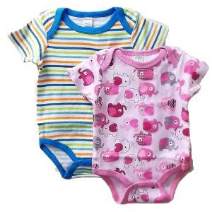 Baby Body Suit Asst Sizes AND Clrs