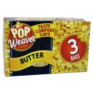 P.W Microwave Popcorn 3pk Bttr