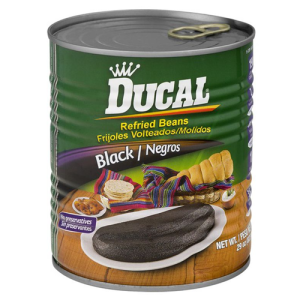 Ducal Refried Black Beans 29oz