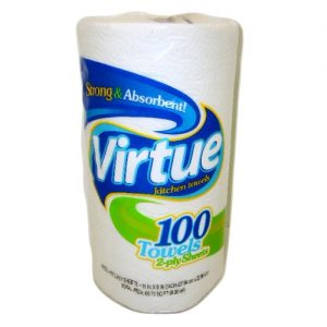 Virtue Paper Towels 100ct