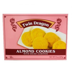 Twin Dragon Almond Cookies 8oz