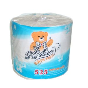 QQ Bear Bath Tissue 525ct 2 Ply