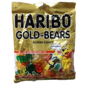 Haribo Gold-Bears Asst Gummies 4oz