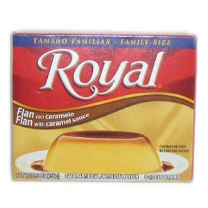 Royal Flan W-Caramel Sauce 5.5oz